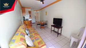 Apartamento um quarto a venda em Caldas Novas no Condomínio Residencial Águas da Fonte - 1003 C